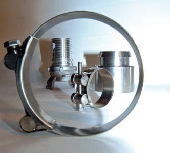colliers de serrage et raccords industriels