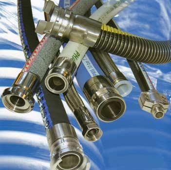 tuyaux flexibles : baies de tuyaux